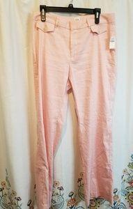 Nwt Gap pink slacks pants